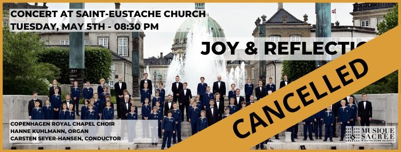 Joy & Reflection – A World Heritage of European Choir Music