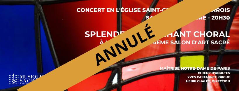 Splendeurs du Chant Choral – 4ème Salon d'Art Sacré