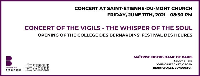 Concert of the Vigils – The Whisper of the Soul